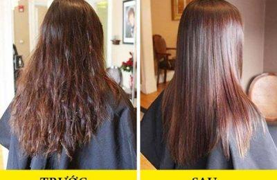 Cách làm thẳng tóc xoăn và làm tóc xoăn tự nhiên thành thẳng