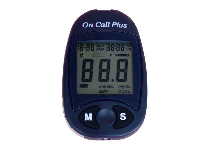 máy đo đường huyết sapphire plus
